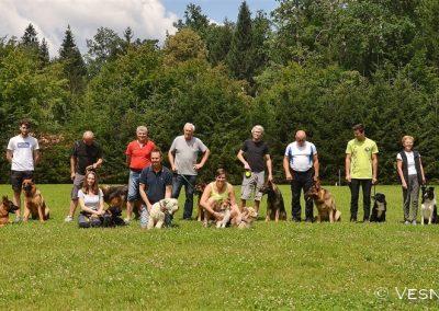 Izpiti šolanih psov športno kinološko društvo bela krajina